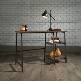 Teknik Industrial Style Bench Desk Smoked Oak