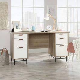 Teknik Avon Leather Handled Desk