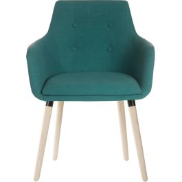 Teknik Four Legged Reception Chair Jade Pk 2
