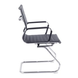 The Vienna Visitors Chair Black