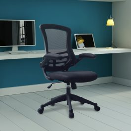 The Rome Mesh Operator's Chair Black