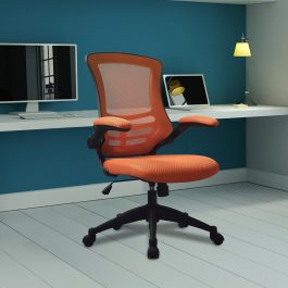The Rome Mesh Operator's Chair Orange