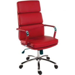 Teknik Deco Executive Chair Red