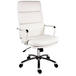 Teknik Deco Executive Chair White