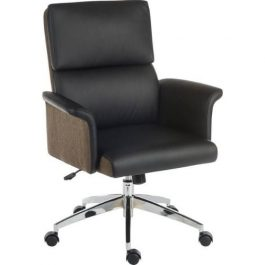 Teknik Elegance Medium Back Chair Black