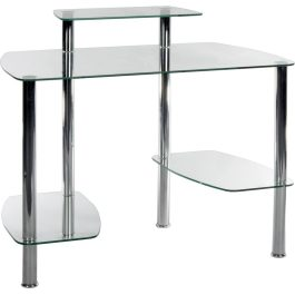 Teknik Glass Workstation Glacier