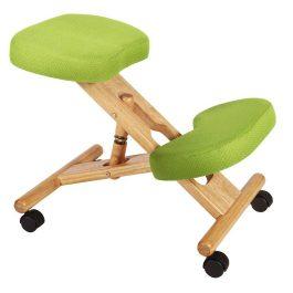 Teknik Kneeling Chair Wood Lime Green