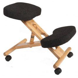 Teknik Kneeling Chair Wood Charcoal
