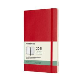Moleskine 2021 Weekly 12 Month Large Diary Soft Cover