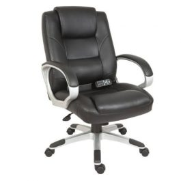 Teknik Lumbar Massage Chair Black