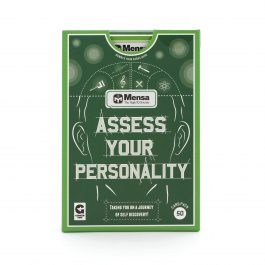 Mensa Card Game – Asses Your Personality