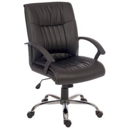 Teknik Milan Executive Chair Black