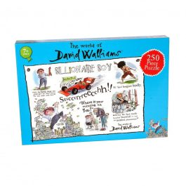 David Walliams Billionaire Boy Jigsaw Puzzle 250 Piece Puzzle
