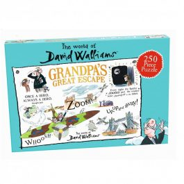 David Walliams Grandpa's Great Escape Jigsaw Puzzle 250 Piece Puzzle
