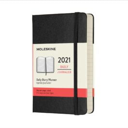 Moleskine 2021 Daily 12 Month Pocket Diary Hard Cover