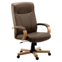 Teknik Richmond Leather Executive Chair Brown