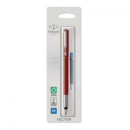 Parker Vector Fountain Pen Red