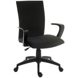 Teknik Work Chair Black Fabric