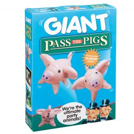 Winning Moves Giant Pass the Pigs Family Game