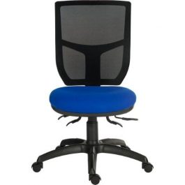 Teknik Ergo Comfort Mesh Chair Blue