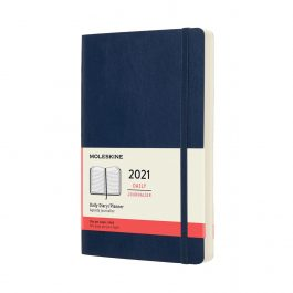 Moleskine 2021 Daily 12 Month Large Diary Soft Cover