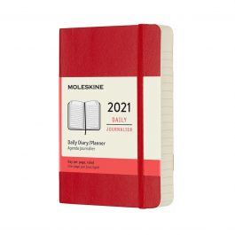 Moleskine 2021 Daily 12 Month Pocket Diary Soft Cover