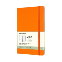 Moleskine 2021 Weekly 12 Month Large Diary Hard Cover