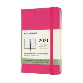 Moleskine 2021 Weekly 12 Month Pocket Diary Hard Cover