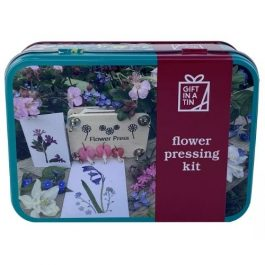 Gift In A Tin Flower Pressing Kit
