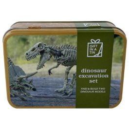 Gift In A Tin Dinosaur Excavation Set