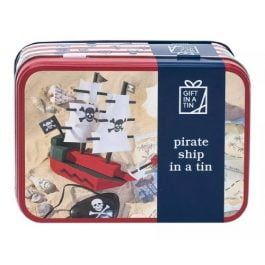 Gift In A Tin Pirate Ship In A Tin