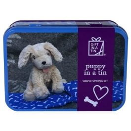 Gift In A Tin Puppy In A Tin