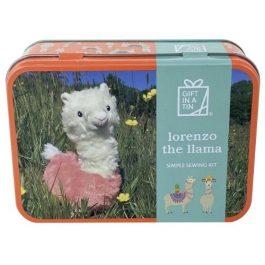 Gift In A Tin Lorenzo The Llama