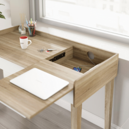 Teknik Giru Desk Sonoma Oak Effect