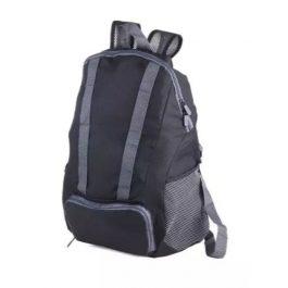 Troika Black Bagpack