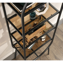 Teknik Boulevard Cafe Oval Bookcase / Display Unit