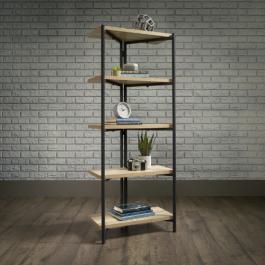 Teknik Chunky Industrial Style 4 Shelf Bookcase