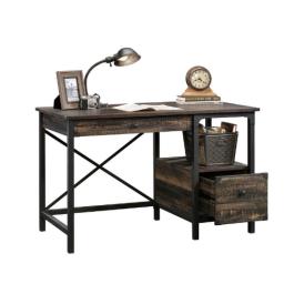 Teknik Steel Gorge Desk Carbon Oak