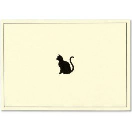 Peter Pauper Press Note Cards Black Cat