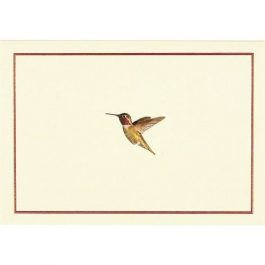Peter Pauper Press Note Cards Hummingbird Flight