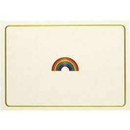 Peter Pauper Press Note Cards Rainbow