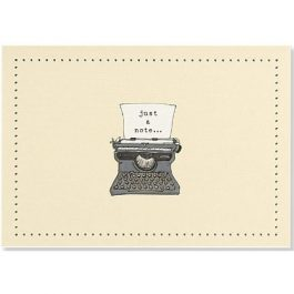 Peter Pauper Press Note Cards Typewriter