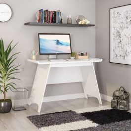 Teknik Towson Trestle Desk White Effect