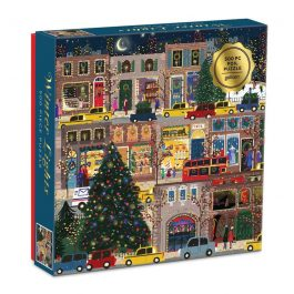 Winter Lights Foil 500 Piece Puzzle