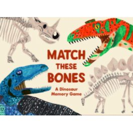 Match These Bones Dinosaur Memory Game