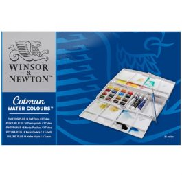 Winsor & Newton Cotman Watercolour Painting Plus Set