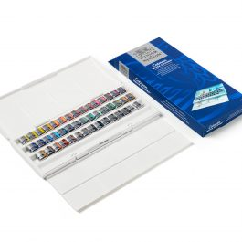 Winsor & Newton Cotman Watercolour Studio Set 45 Half Pans