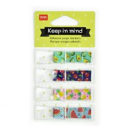 Legami Keep In Mind Adhesive Page Markers – Fruits