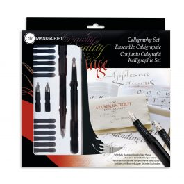 Manuscript Calligraphy Fountain Pen Set
