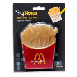 Thinking Gifts Sticky Notes Yummy Fry